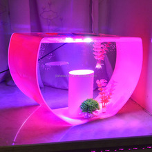 plexiglass fish tank aquarium Modern design LED acrylic aquarium fish breeder for home decoration
