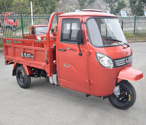 Enclosed Heavy Tricycle, 250cc 3 Wheel Motor Scooter, Three Wheel Covered Motorcycle Trikes