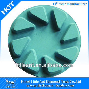 "polishing pad for floor machine size 80mm/3"" by manufacturer"