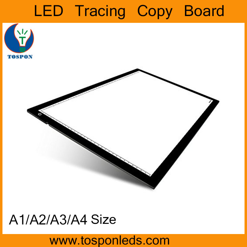 A1 A2 A3 A4 Size Acrylic Panel Slim LED A4 Size LED Tracing Stencil Tattoo Light Box
