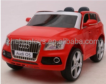 Audi Q5 licensed toys toys wholesale used,children toy cars,electric car for kids 12 volt with two opening doors
