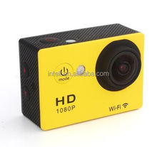 hot selling 1080p wifi action camera w9 sport full HD camera