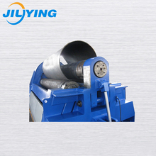 W11S Three Rollers Rolling Machine For Thick Steel Metal Sheet Cone Rolled Fabrication Roller