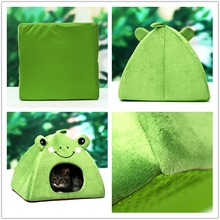 simple style animal shape pet bed house cat cave