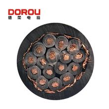 shielded multicore cable spiral power cable
