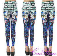 Wholesale fashion print Women legging, women tight pants lady sex legging pants, mature women legging N1-187