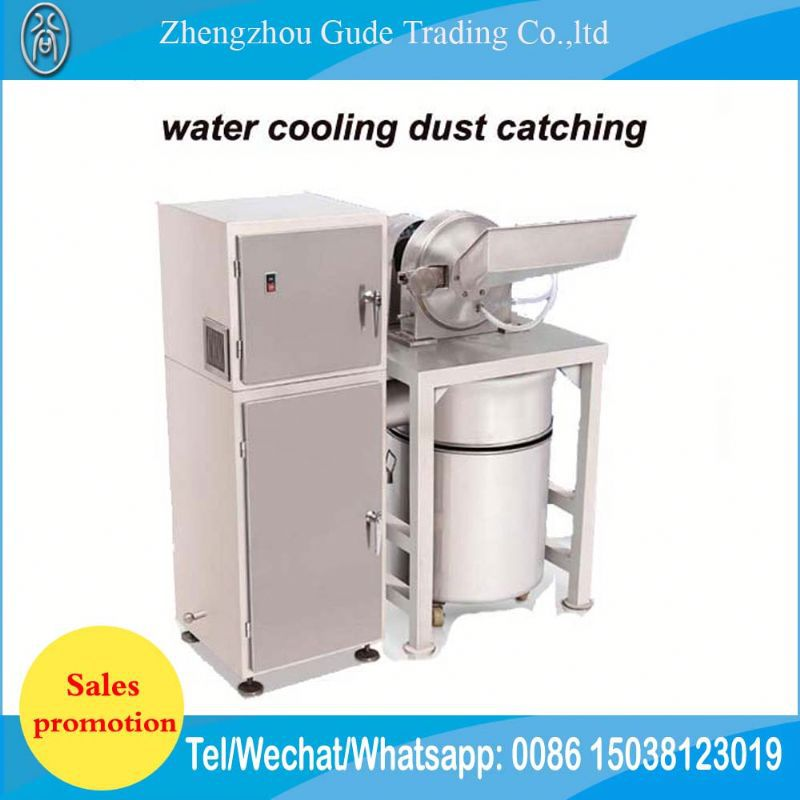 Food Grade Dust Collecting Absorption Herb Tea Leaf Crushing Machine