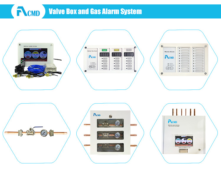 Hospital A-VB-XX Zone Valve Box With Alarm