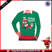16FZCS59 winter adult ugly christmas sweater christmas jumpers for men