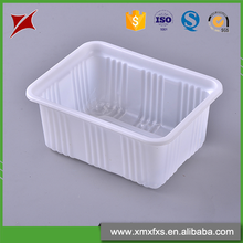 2016 China blister disposable tofu pp frozen food tray