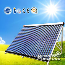 Separated Evacuated Tube Heat Pipe Solar Collector