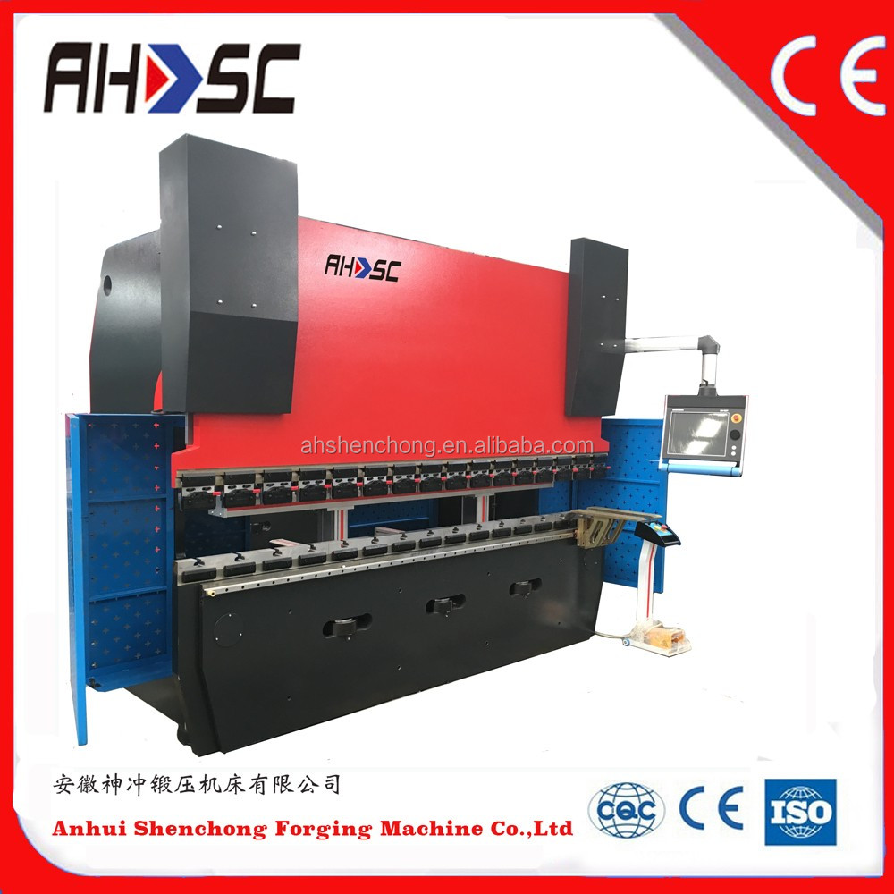100T 3200mm Hydraulic Press Brake machine to cut and bending iron from china supplier