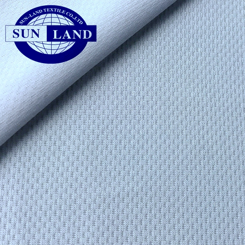 100% polyester cool max dry fit bird eye mesh fabric for sportswear