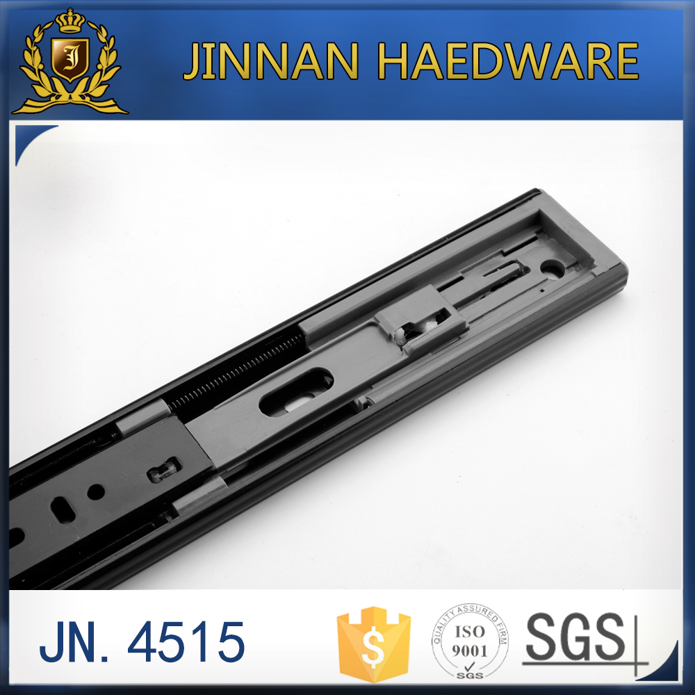JN.4515-S soft closing telescopic drawer channel slide