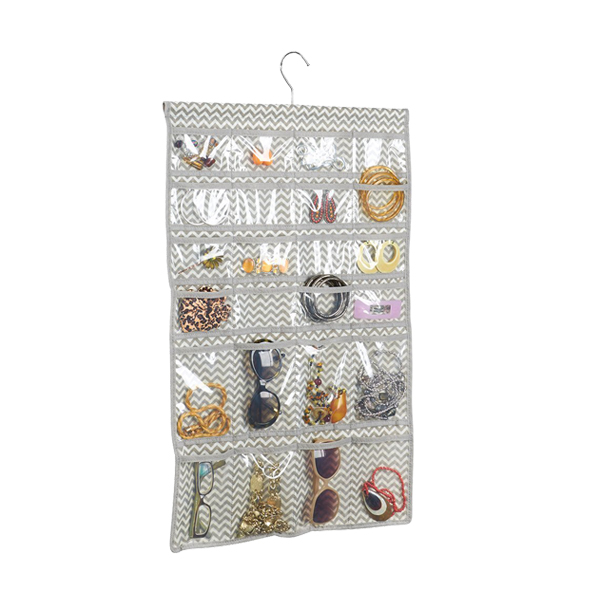 Hanging Organizer Jewelry Holder with 80 Pockets