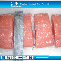 Wholesale High Quality Frozen Pink/Chum Salmon Portion