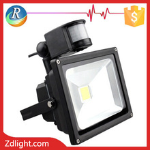 50W Led floodlight fixture with PIR