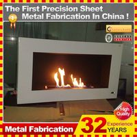 2014 hot sale professional customized natural gas fireplace with 32 years experience