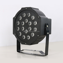 RGB cheap flat moving head led beam par stage light