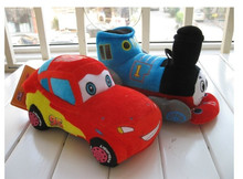 "55cm car and train plush toys car super big 55cm 21.5 ""cartoon baby toys cute toy, just skin, no filling"
