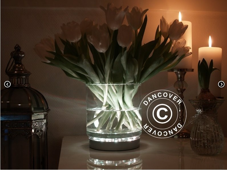 Fathers Day Battery Operated 31white Led Light Under Vase Light