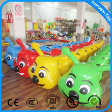 Colorful Adult Or Kid Outdoor Team Game Inflatable Caterpillars