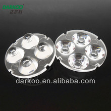 High Power transparent 10degree led lens DK3210-4H1-Z