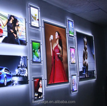 A0 A1 A2 A3 A4 led outdoor poster frame aluminum rotating light box