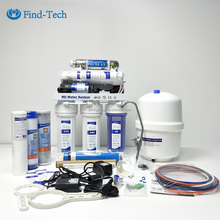 Home 6 stage undersink UV mineral reverse osmosis water filter drinking ro water purifier machine