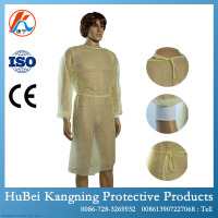 China factory disposable stetrile hospital patient clothes