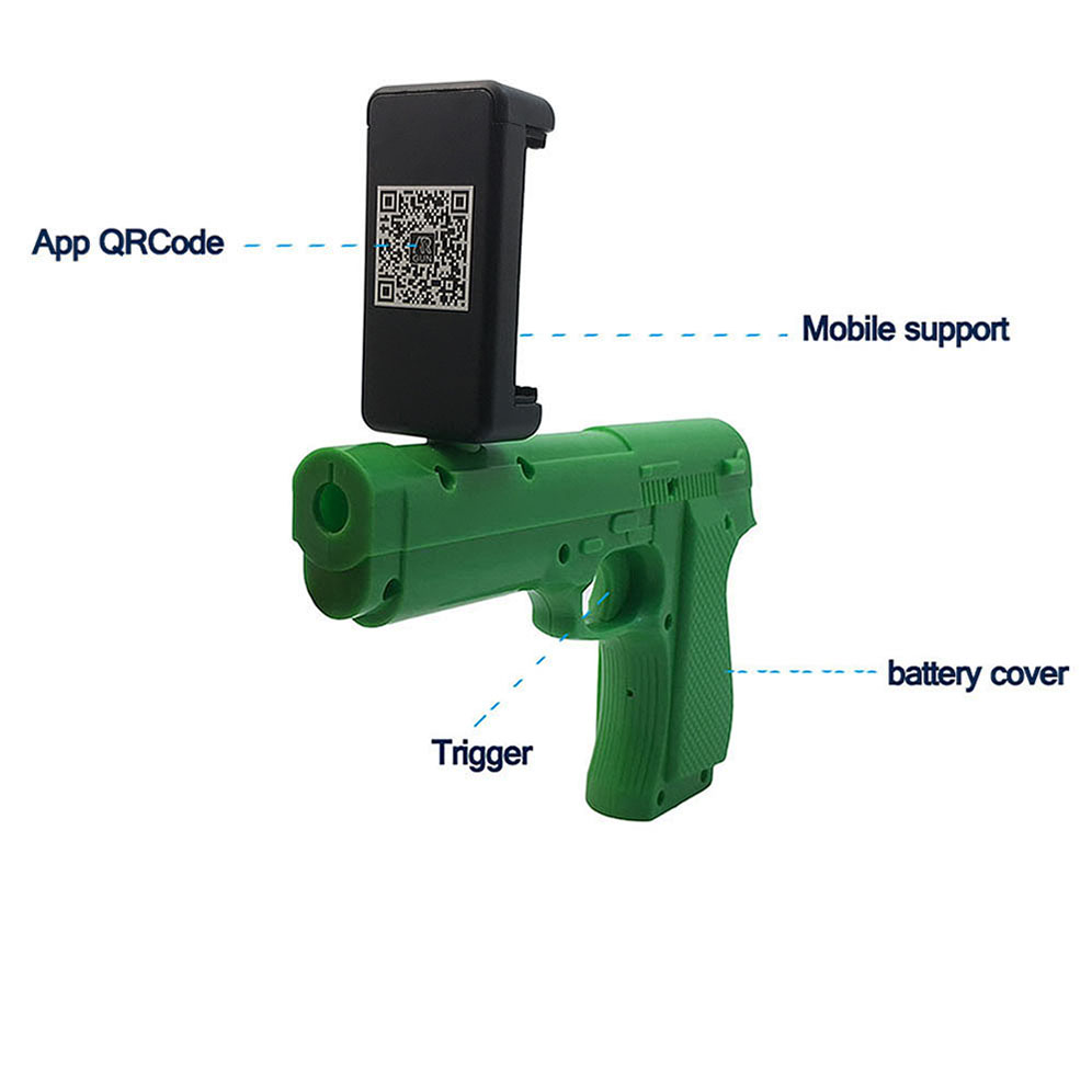 2017 Mobile Phone Connected APP Smart Game Toy AR Gun for Players