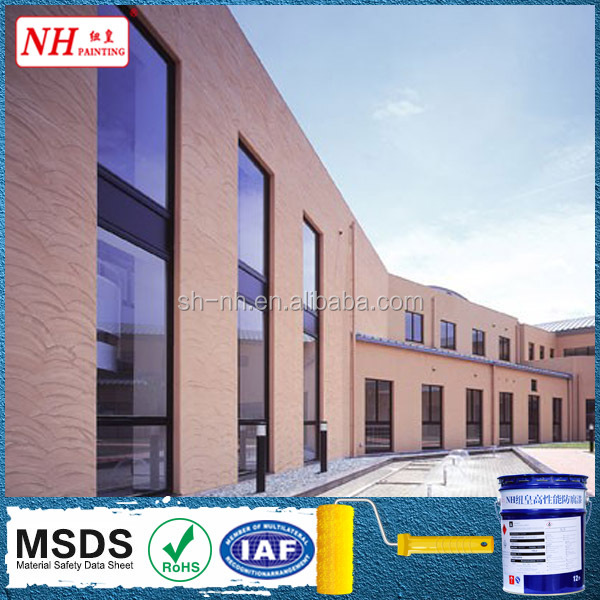 Self-clean Silicon Acrylic waterproof exterior wall paint