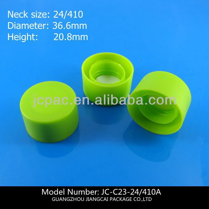 threaded plastic caps