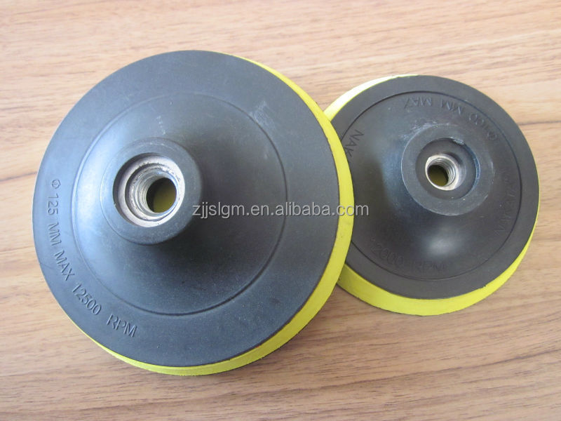 4''/4.5''/5''/7''grinding pad <strong>M10</strong>/M14 with high quality factory