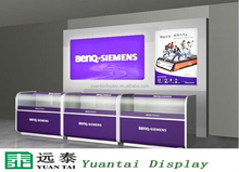 Hot sale furniture mobile phone shop counter display decoration