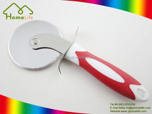 New Design good quality stainless steel pizza cutter with TPR handle