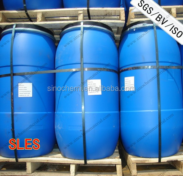 SLES 70% for Detergent,Sodium Lauryl Ether Sulphate sles70% manufacturer