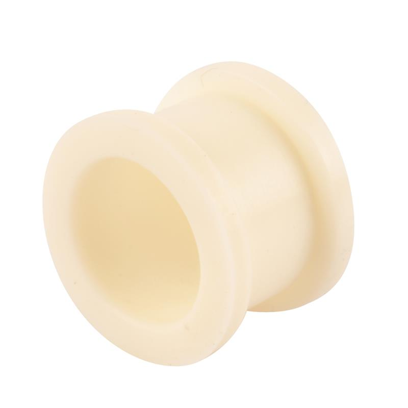 Hot selling personalized mustache flexible white silicone ear flesh tunnel plugs wholesale