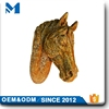 Indoor Golden Horse Head Statue Wholesale