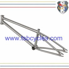 Freestyle bmx bicycle motocross frame titanium bmx alloy bike frame TSB- BM1101