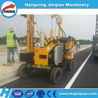 Hydraulic hammer Impact drilling guardrail pile driver