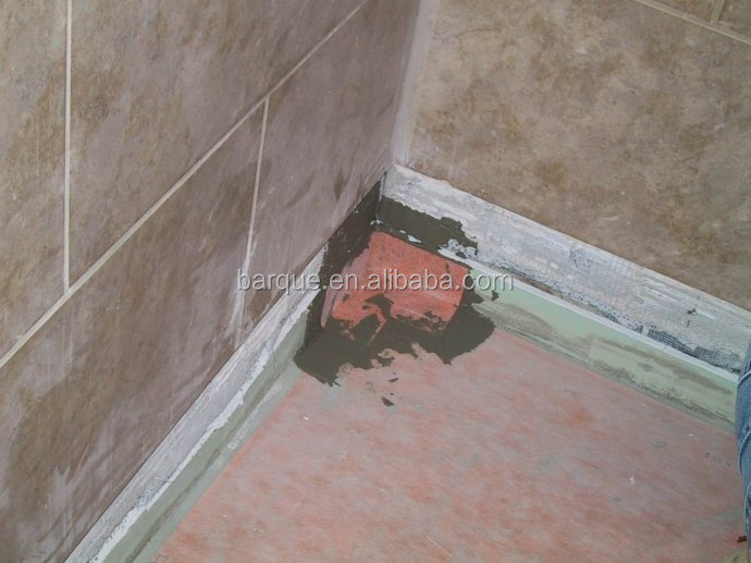 PP /PE bathroom floor waterproof /soundproof material