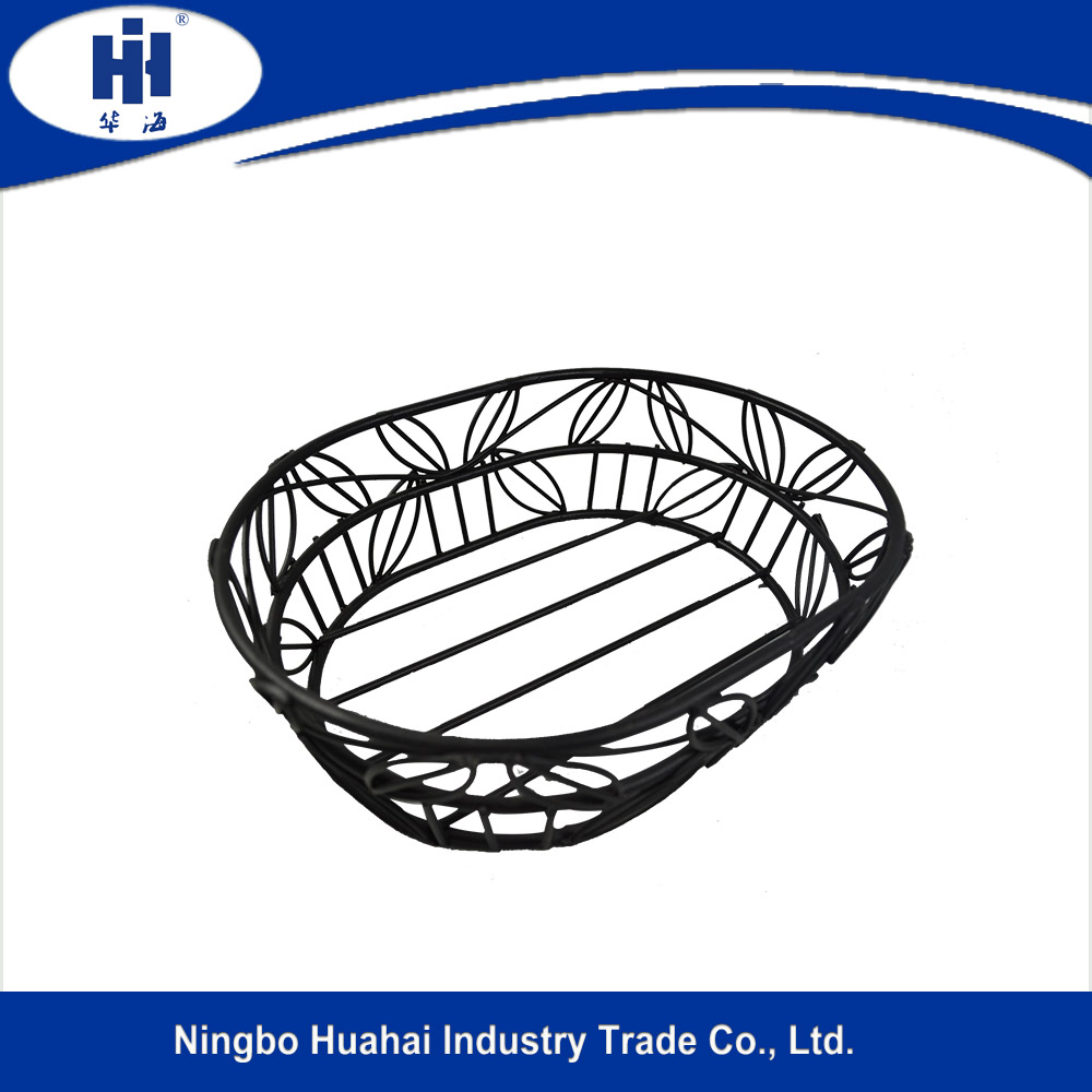 2016 cheap iron wire basket for gifts, gift wire basket, wire basket for small items