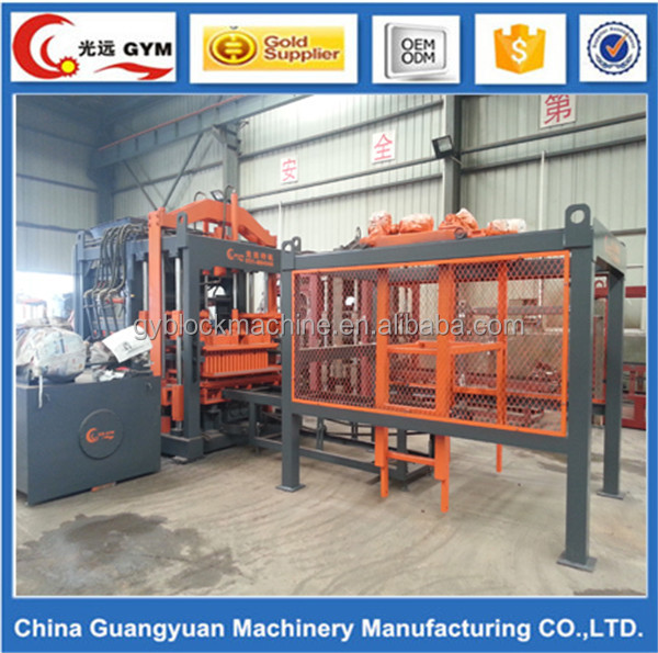 fully automatic construction equipment concrete solid block machine name