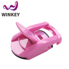 Best selling products mini plastic pink eyelash curler
