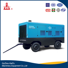 Kaishan 405KW 25Bar Portable Diesel Rotary Screw Air Compressor Air Compressor For Spray Painting
