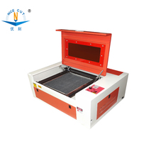 NC-S4040 Mini Laser Machine desktop machine 400x400mm Stone Graven Images, carving invitation card, letter