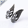 Good quality new style elegant alloy angel wings engagement ring