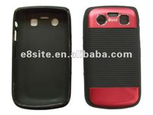 Stylish Aluminium Slices Cover TPU Case For BlackBerry Bold 9700