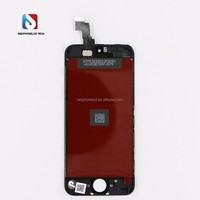 Mobile phone accessories lcd touch screen display assembly digitizer for iPhone 5c aftermarket hot sale
